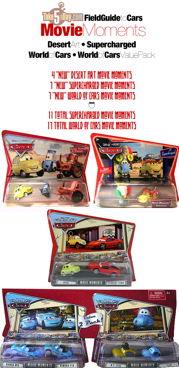disney pixar cars collectors guide