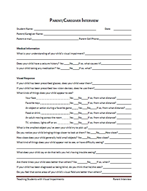 semi structured interview guide template
