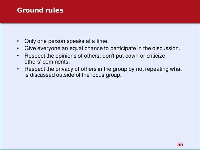 how to write a focus group discussion guide