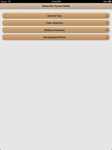 game dev tycoon guide iphone
