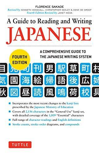 a guide to reading and writing japanese fourth edition pdf