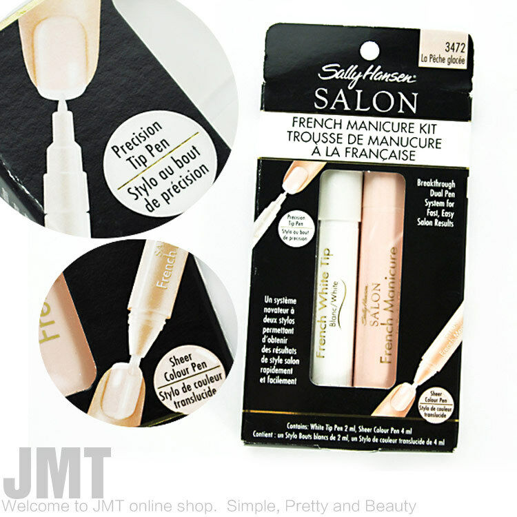 sally hansen french manicure guides